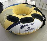 SEVYLOR F4 TOWABLE DONUT 1 PERSON TOWABLE 48 INCH -SHARK GLIDE SKIN Used less than a month since new
