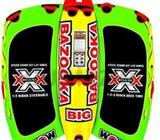 WOW BIG BAZOOKAFEATURES: • 1-4 Rider deck tube with optional steering capability• 10 double webbing