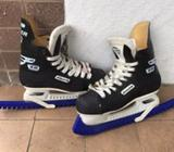Excellent used condition, Bauer Ice Skates 40Size UK 4US 6Eur 36-37Available from 6th August, please