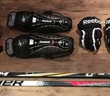HOCKEY EQUIPMENTS 4 SALEUsed for few months onlySelling all the equipment together for only AED 900