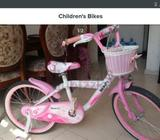 Kids cycle in good condition urgent sale..... only 150 each