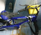 Bicycle and kids motor bike combo sale. Two kids in a house can be benefited by this combo sale.Rare