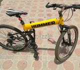 Original hummer bike bought for 700.. only used 3-4 times in proper manner. Only stored indoors