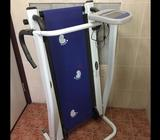 Treadmill for sale in alain , Used one or two time only , The only reason to sell no space at home