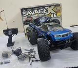 RC CARSAVAGE X 4.6 BLOCK NITROIN VERY GOOD CONDITION6 MONTH OLDWHATSAPP Show Phone Number