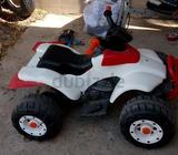 FOUR WHEEL DRIVE ALONG WITH BATTERY CHARGER ; OUT DOOR USAGE