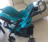 Grago Stroller +baby car seat