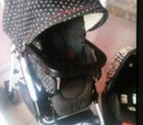 Mama and papa Stroller and rockable carrycot in good condition. Need slight cleaning