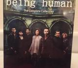 Completely unopened, still in packaging, BBC television show Being Human Box set, seasons 1-5. Super