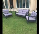 Set of garden couches 1x2seater and 2x1seater purchased from Ace hardware
