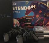 Complete in box brand new N64 used for only testing the item. With Mario 64 game (worth 100AED ) fre