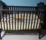 The baby/toddler crib