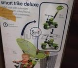 Mothercare smart trike deluxe in very good condition. Still got original box, barely used. Good for