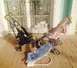 for serious kitty stroller: 60 dhstroller from mother care : 50 dh baby swing : 25 dh for calls : Sh
