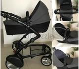 Mima kobi versatile baby stroller. Good for two babies or twins as it has flexibility to become a pu