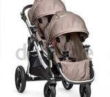 Baby Jogger City Select Double Stroller in Quartz colorWhether you like to have a travel system, a p