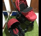 Set of Graco Evo stroller and Graco car seat complete with adapterStill in very good conditionJust a