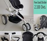 Stroller used for a few months. Very high quality and Perfect condition. Always use with maxi cosi .