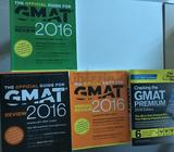 4 gmat books (3 official guide, 1 Princeton review)