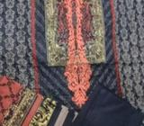 Pakistani Suits, Cotton Lawn Embroidered, 3 Pc available in , UAE. Variety of Designs and Colors. Fo
