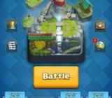 Clash royale account, arena 10, level 11, all legendary cards
