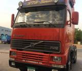 DOUBLE CHASIS VOLVO FH-12 2001 MODEL WITH HEAVY TRAILER 90000/-IN VERY NICE CONDITION, pASSING DONE