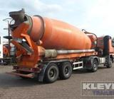 Axles : 2Weight : 8080kgSuspension Type : fullairsuspensionColor : OrangeSpecification : MixerCombin