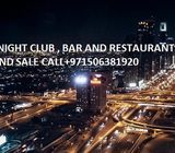 Nightclub and spa center For Sale in Dubai-UAE call 00971506381920