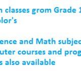 Computer courses and Languages,Mathematics