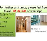 excellent office ejari from 2700 per year for  Dubai Mainland license