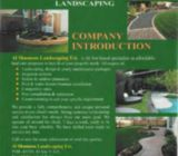 Landscape, Irrigation and Gardening of works