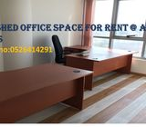 Furnished Office Space Available