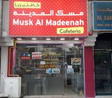 Well Equipped Running Cafeteria at Mowailah Area, Sharjah for sale. Excellent Location