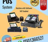POS SYSTEM with VAT option  (point of sale machine with software)