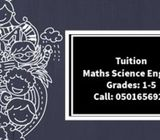 Tuition for children from grade 1 to 8 in sharjah
