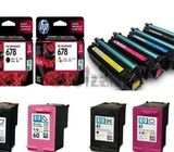 We are buying used unused toner cartridges ink