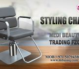STYLING CHAIR DUBAI FOR LADIES CHAIR FOR SALON AND MAKE UP