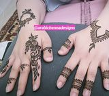 Henna experts at your door step