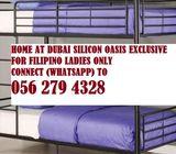 Home at Dubai Silicon Oasis (for Filipino Ladies)
