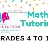 Maths tuition available-Grades 4 to 11-Al Qusais,Dubai