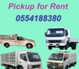 Pickup for rent in sharjah 0554188380