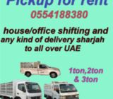 Pickup truck for rent in sharjah 0554188380