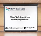 Video Wall for Rent in Dubai at VRS Technologies