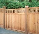 Boundary Fence, Bench, Wood Door, Wardrobe Wall Cladding,  CALL 050 209 7517