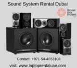 Sound Systems Rental in Dubai - Techno Edge Systems
