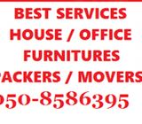 DUBAI HOUSE FURNITURE PACKERS N MOVERS 050-8586395