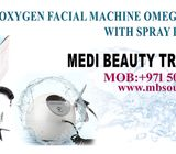 Oxygen facial machine Omega injection  with spray for skin care