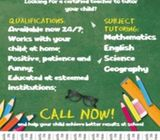 Need a Tutor ?Do you need help learning a language or may be you have trouble  with math?