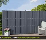 Privacy Picket Fence Dubai | Wooden Fences And Garden Structure Dubai