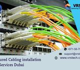 Get Successful Structured Cabling Installation | VRS Tech Dubai